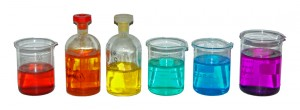 Coloured-transition-metal-solutions